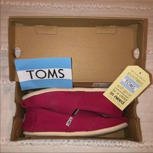 TOMS Classic Barberry Pink